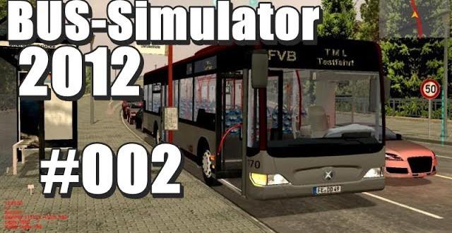 Bus-Simulator 2012 #002 – Erste Linienfahrt