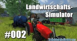 Landwirtschafts-Simulator 2013 #002 – Fahren, fahren, fahren…