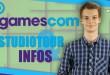 Gamescom Tag 1: Studiotour und GC-Infos