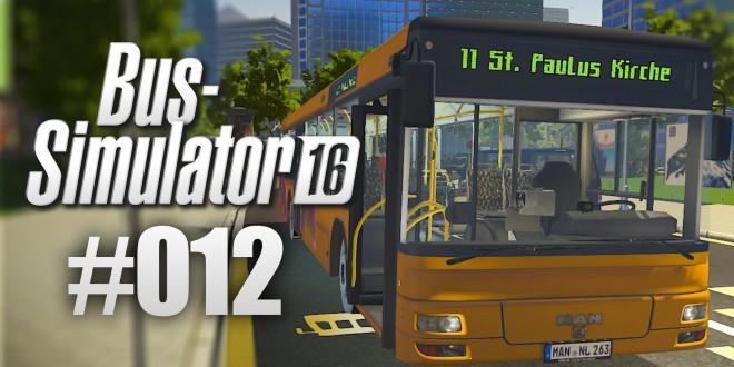 BUS-SIMULATOR 16 #12 – Zu kalt im MAN NL263  | Let's Play Bus Simulator 2016 deutsch HD