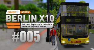 OMSI 2 Berlin X10-Addon #005  – Mitten durch Berlin auf der M29!