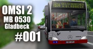 OMSI 2 mit dem MB O530 durch Gladbeck Linie SB36 #001
