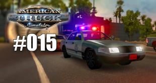 American Truck Simulator #015 – Polizei-Strafe wegen Licht! Gameplay ATS deutsch HD