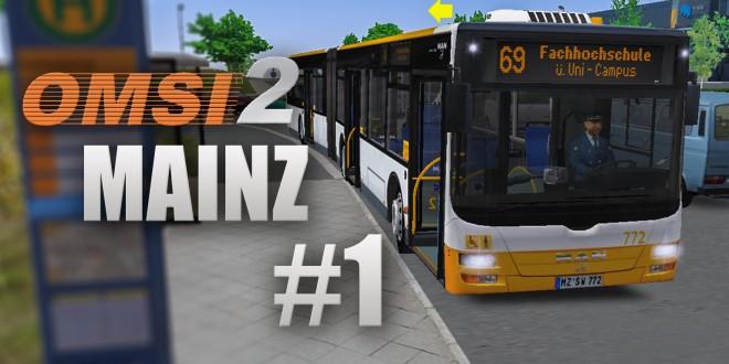 OMSI 2: Mainz mit Linie 69 und dem MAN Lion's City G!
