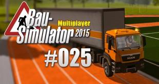 Bau-Simulator 2015 Gold Multiplayer #025 – Flutlichter fürs Stadion!