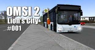 OMSI 2 – MAN Lion's City in Spandau #1 – Anzeigenprobleme