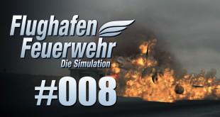 Flughafen Feuerwehr: Die Simulation #08 – Wintereinbruch und Flugzeugbrand
