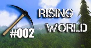 Rising World #002 – Toilette im Wald!?