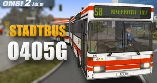 OMSI 2: Stadtbus O405: Fahrt im modernen O405G-Gelenkbus!
