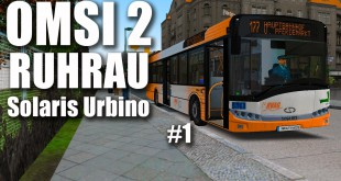 OMSI 2: Ruhrau mit dem SOLARIS Urbino III #001 – dauernd Feuerwehr!