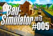 Bau-Simulator 2015 #005 – Man, man, man – der Bagger ey