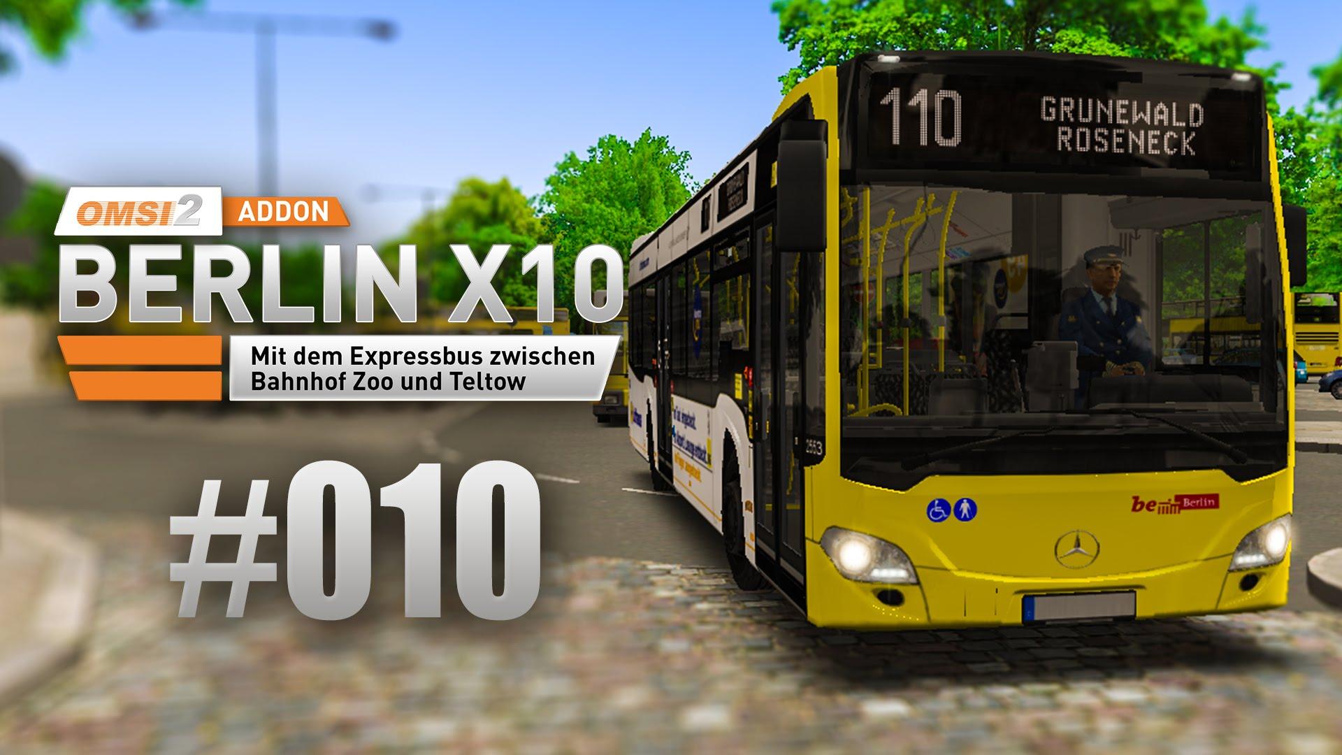 OMSI 2 Berlin X10-Addon #010 - Unterwegs auf der 110 - nordrheintvplay
