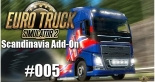 Euro Truck Simulator 2: Scandinavia Add-On #005 – Zurück nach Skandinavien
