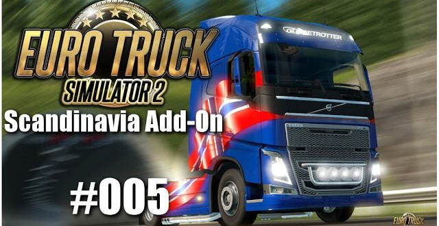 Euro Truck Simulator 2: Scandinavia Add-On #005 – Zurück nach Skandinavien