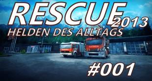 Rescue 2013 #001 – Alarm! Alarm!