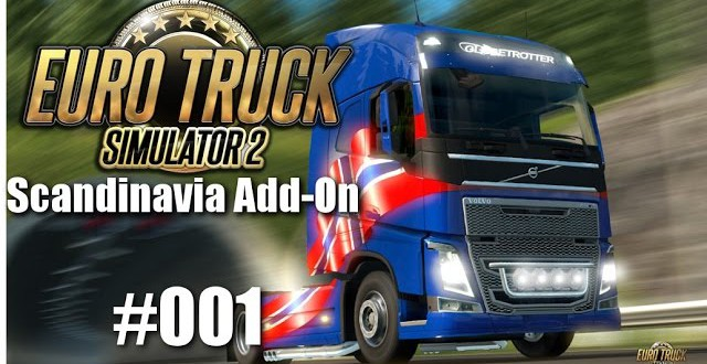 Euro Truck Simulator 2: Scandinavia Add-On #001 – Auf nach Odense