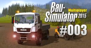 Bau-Simulator 2015 Multiplayer #003 – Chaos beim Baustoffhändler
