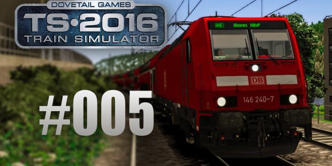 Train Simulator 2016 – Mit der BR 146 von Bad Breisig nach Koblenz #005 – Erhöhter Zuckerkonsum