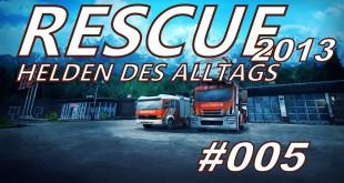 Rescue 2013 #005 – Advent, Advent, der Stapler brennt…
