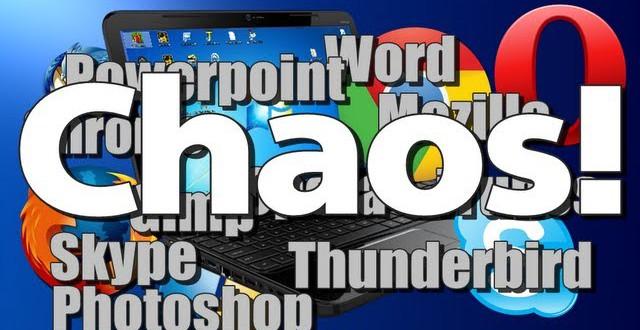Chaos auf dem Desktop – Freunde ärgern