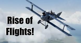 Rise of Flights: jetzt auch über dem Kanal!