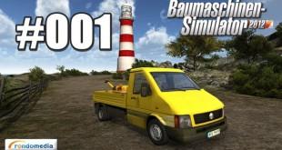 Simulatoren – Baumaschinen-Simulator #001 – Aller Anfang ist schwer