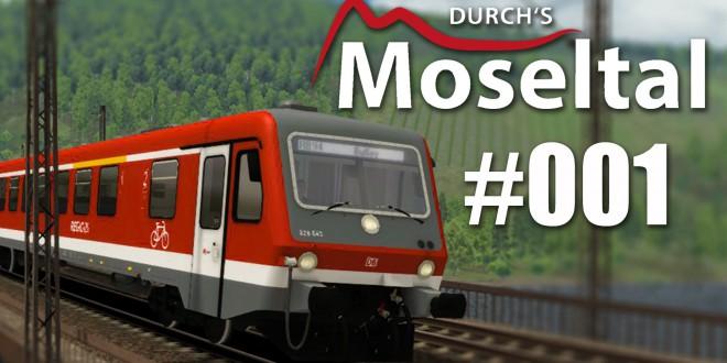 Train Simulator: Durch's Moseltal #001 – Weihnachtspendelzug von Wittlich nach Trier