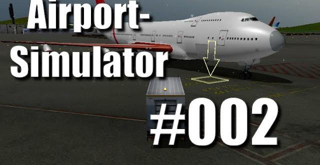 Airport-Simulator 2013 #002 – Jumbo Abschleppen