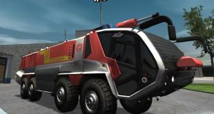 Flughafenfeuerwehr-Simulator #009 – Radbrand