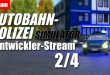 Autobahnpolizei-Simulator – Entwickler-Stream 2: Updates beim Autobahnpolizei-Simulator