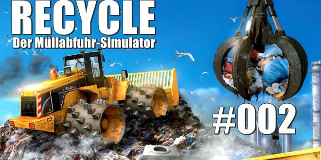 RECYCLE – Müllabfuhr-Simulator #002 – Müll einsammeln