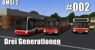OMSI 2 Drei Generationen #2 – hängen geblieben…