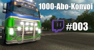 Der MEGA ETS 2 1000-Abo-Konvoi! #003 – Ein bisschen Chaos