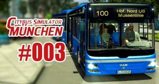 City Bus Simulator München #003 – Mit dem Gelenkbus am Depot!