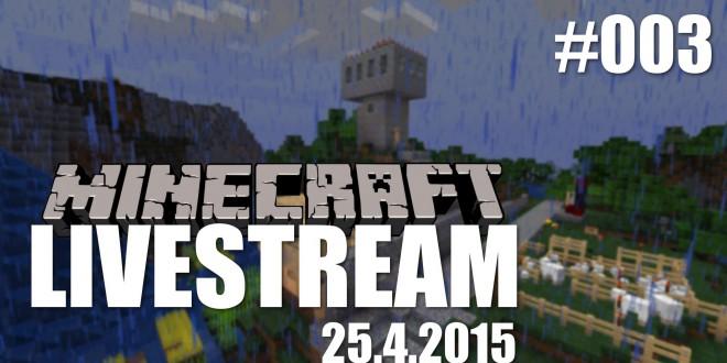 Livestream (25.4.2015) #003 – Unter Tage