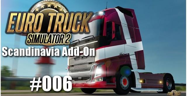 Euro Truck Simulator 2: Scandinavia Add-On #006 – Ein bisschen Kies nach Linköping