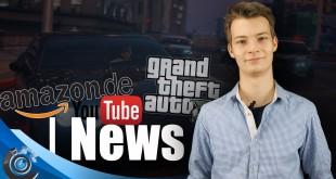 GTA 5 mit CD-Chaos, Youtube-Bezahldienst und AMAZON vs. Rezensionen! NEWS
