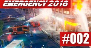EMERGENCY 2016 #002 –  Ölraffinerie in Brand!