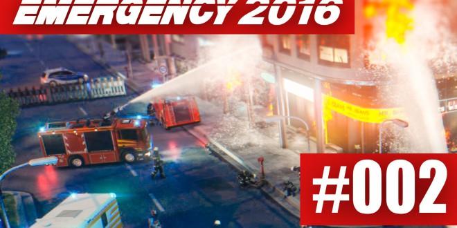 EMERGENCY 2016 #002 –  Ölraffinerie in Brand!