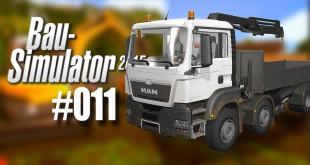 Bau-Simulator 2015 #011 – Pritschenwagen mit Kran!
