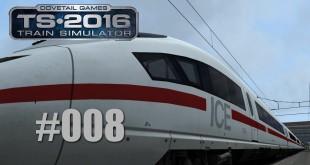 Train Simulator 2016 – Mit dem ICE 3 von Düsseldorf nach Köln #008 – Sänk ju for trawelling …