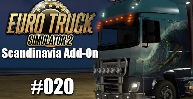 Euro Truck Simulator 2: Scandinavia Add-On #020 – Der Landschaftsfotograf