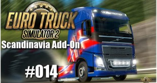 Euro Truck Simulator 2: Scandinavia Add-On #014 – Mal wieder on the road