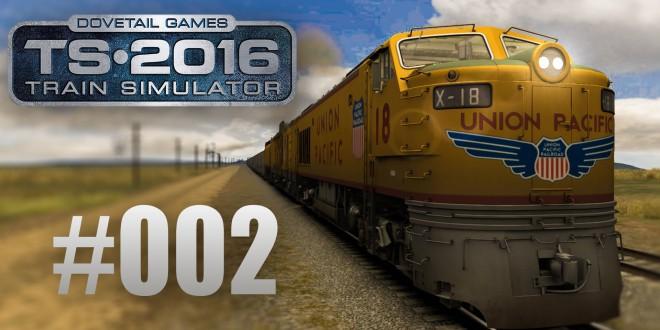 Train Simulator 2016: Union Pacific Railroad mit der Gasturbine #002 – Das Monster auf Rädern!