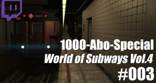 1000-Abo-Special – WoS Vol. 4 – #003 – Spaziergang im Tunnel
