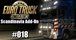 Euro Truck Simulator 2: Scandinavia Add-On #018 – Alarmfahrt!!