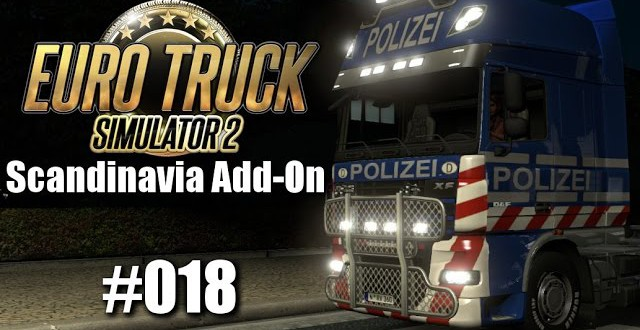 Euro Truck Simulator 2: Scandinavia Add-On #018 – Alarmfahrt!!
