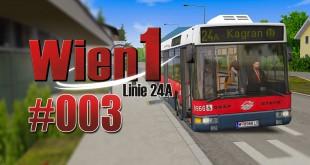 OMSI 2 Wien 1 24A mit dem NL 205 #003 – Miese Verspätung!