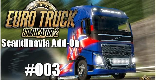 Euro Truck Simulator 2: Scandinavia Add-On #003 – UFOs in Schweden?!