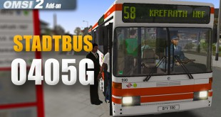 OMSI 2: Stadtbus O405 – Quer durch Krefrath mit dem O405G-Gelenkbus!